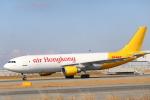 水月さんが、関西国際空港で撮影したエアー・ホンコン A300F4-605Rの航空フォト(写真)