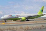 水月さんが、関西国際空港で撮影したジンエアー 777-2B5/ERの航空フォト(写真)