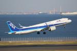 やまけんさんが、羽田空港で撮影した全日空 A321-272Nの航空フォト(写真)