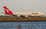 B.K JEONGさんが、シドニー国際空港で撮影したカンタス航空 747-438/ERの航空フォト(飛行機 写真・画像)