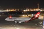 m_aereo_iさんが、羽田空港で撮影したカンタス航空 747-438/ERの航空フォト(写真)