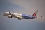 ケロさんが、関西国際空港で撮影したチャイナエアライン A350-941XWBの航空フォト(写真)