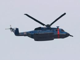 丸めがねさんが、東京ヘリポートで撮影した警視庁 S-92Aの航空フォト(飛行機 写真・画像)