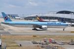 たっしーさんが、関西国際空港で撮影した大韓航空 777-3B5/ERの航空フォト(写真)