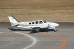 tombowさんが、仙台空港で撮影した航空大学校 Baron G58の航空フォト(写真)