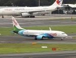 garrettさんが、シドニー国際空港で撮影したエア・バヌアツ 737-8SHの航空フォト(写真)