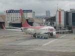 カップメーンさんが、台北松山空港で撮影したティーウェイ航空 737-86Jの航空フォト(飛行機 写真・画像)