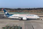 Y-Kenzoさんが、成田国際空港で撮影したアエロメヒコ航空 787-8 Dreamlinerの航空フォト(写真)