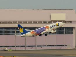 さんぜんさんが、羽田空港で撮影したスカイマーク 737-81Dの航空フォト(写真)