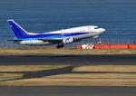 だだちゃ豆さんが、羽田空港で撮影したユニカル・アヴィエーション 737-54Kの航空フォト(写真)