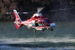 SAMBAR-2463さんが、埼玉県飯能市で撮影した埼玉県防災航空隊 AS365N3 Dauphin 2の航空フォト(写真)