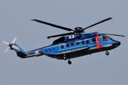 =JAかみんD=さんが、東京ヘリポートで撮影した警視庁 S-92Aの航空フォト(飛行機 写真・画像)