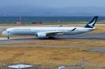 amagoさんが、関西国際空港で撮影したキャセイパシフィック航空 A350-1041の航空フォト(写真)