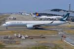 JA56SSさんが、関西国際空港で撮影したキャセイパシフィック航空 A350-1041の航空フォト(写真)