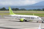 kuro2059さんが、鹿児島空港で撮影したソラシド エア 737-81Dの航空フォト(写真)
