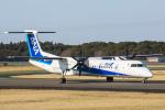 SGR RT 改さんが、成田国際空港で撮影したANAウイングス DHC-8-402Q Dash 8の航空フォト(写真)