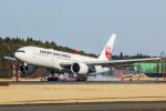 SGR RT 改さんが、成田国際空港で撮影した日本航空 777-246/ERの航空フォト(写真)