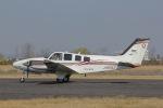 だいまる。さんが、岡南飛行場で撮影した岡山航空 G58 Baronの航空フォト(写真)