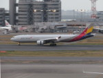 カップメーンさんが、羽田空港で撮影したアシアナ航空 A330-323Xの航空フォト(飛行機 写真・画像)