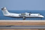 れんしさんが、北九州空港で撮影した国土交通省 航空局 DHC-8-315Q Dash 8の航空フォト(写真)