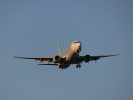カップメーンさんが、羽田空港で撮影したソラシド エア 737-86Nの航空フォト(写真)