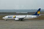 we love kixさんが、神戸空港で撮影したスカイマーク 737-8HXの航空フォト(写真)