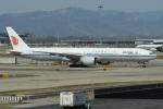 たっしーさんが、北京首都国際空港で撮影した中国国際航空 777-39L/ERの航空フォト(写真)