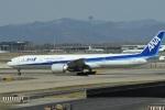 たっしーさんが、北京首都国際空港で撮影した全日空 777-381/ERの航空フォト(写真)
