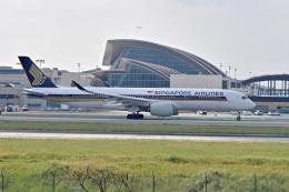 Cimarronさんが、ロサンゼルス国際空港で撮影したシンガポール航空 A350-941の航空フォト(飛行機 写真・画像)