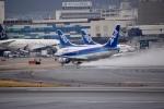 くれくんさんが、伊丹空港で撮影したANAウイングス 737-5L9の航空フォト(飛行機 写真・画像)