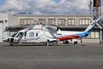 MOR1(新アカウント)さんが、双葉滑空場で撮影した山梨県防災航空隊 S-76Bの航空フォト(写真)