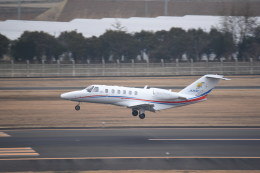 kumagorouさんが、仙台空港で撮影した静岡エアコミュータ 525A Citation CJ2+の航空フォト(写真)