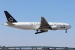 ゆう改めてさんが、福岡空港で撮影した全日空 777-281の航空フォト(写真)