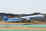 SGR RT 改さんが、成田国際空港で撮影した全日空 777-381/ERの航空フォト(写真)