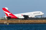 B.K JEONGさんが、シドニー国際空港で撮影したカンタス航空 A380-842の航空フォト(写真)