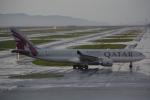 Cherry blossoms さんが、関西国際空港で撮影したカタール航空 A330-202の航空フォト(写真)