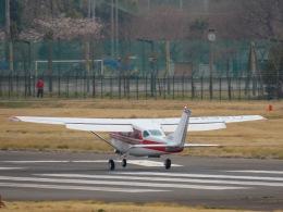さんぜんさんが、調布飛行場で撮影した川崎航空 TU206G Turbo Stationair 6の航空フォト(写真)
