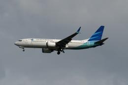 航空フォト:PK-GDA ガルーダ・インドネシア航空 737 MAX 8