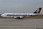 れんしさんが、北九州空港で撮影したシンガポール航空カーゴ 747-412F/SCDの航空フォト(写真)
