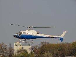 さんぜんさんが、調布飛行場で撮影した東邦航空 AS350B Ecureuilの航空フォト(写真)