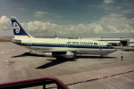 ヒロリンさんが、オークランド空港で撮影したニュージーランド航空 737-219の航空フォト(写真)