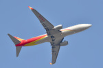パンダさんが、成田国際空港で撮影した海南航空 737-86Nの航空フォト(飛行機 写真・画像)