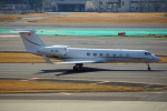 ちゃぽんさんが、成田国際空港で撮影したAvcon ジェット G500/G550 (G-V)の航空フォト(飛行機 写真・画像)