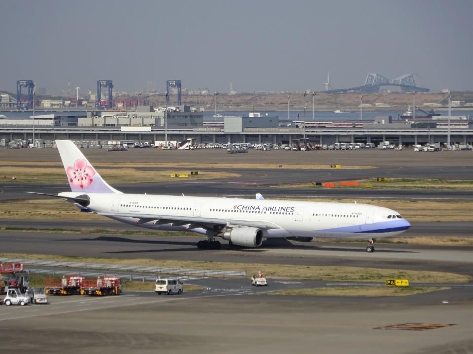 KAZFLYERさんのチャイナエアライン Airbus A330-300 (B-18309) 航空フォト