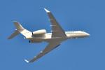 パンダさんが、成田国際空港で撮影したCORPORATE LIFT LLC BD-700-1A11 Global 5000の航空フォト(写真)