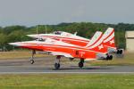 ちゃぽんさんが、フェアフォード空軍基地で撮影したスイス空軍 F-5E Tiger IIの航空フォト(写真)