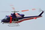 eokiiiiさんが、群馬ヘリポートで撮影した岐阜県防災航空隊 412EPの航空フォト(写真)