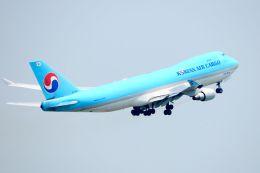 まいけるさんが、スワンナプーム国際空港で撮影した大韓航空 747-4B5F/SCDの航空フォト(飛行機 写真・画像)