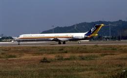 LEVEL789さんが、松山空港で撮影した日本エアシステム MD-81 (DC-9-81)の航空フォト(飛行機 写真・画像)