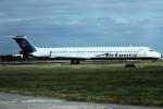 tassさんが、ロンドン・ガトウィック空港で撮影したエアツアーズ・インターナショナル・エアウェイズ MD-83 (DC-9-83)の航空フォト(飛行機 写真・画像)